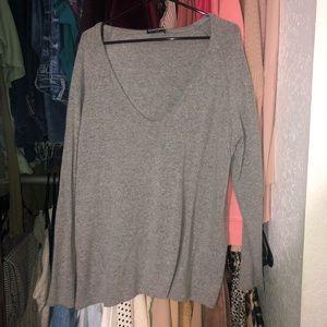 Loose Gray Brandy Melville Sweater